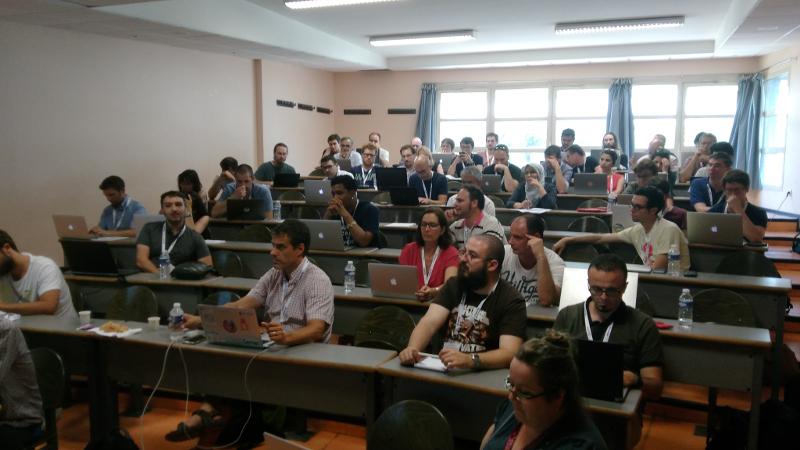 séance Rimel aux journées du GDR/GPL à Montpellier (juin 2017)